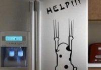 Интерьерные наклейки на холодильник