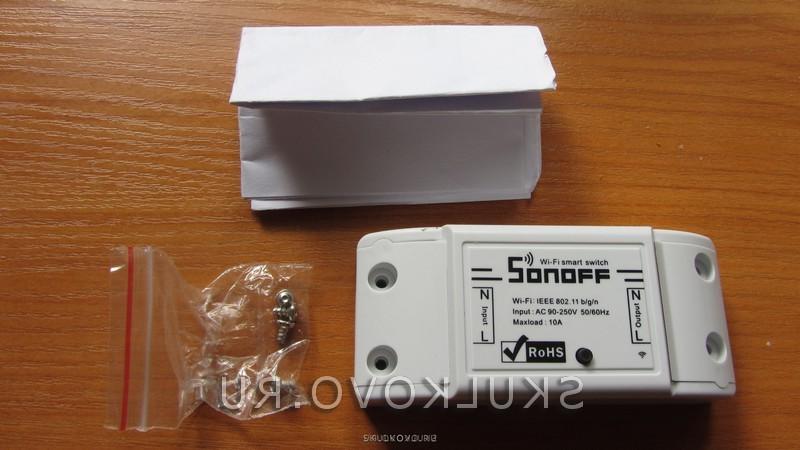 Sonoff обзор, настройка, подключение.