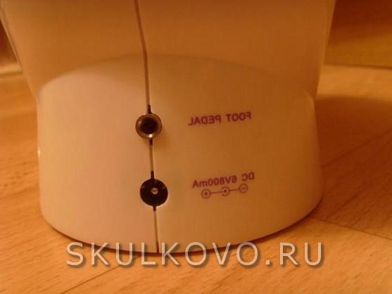 Электрическая швейная машинка