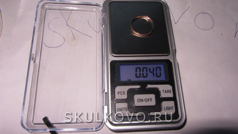 весы для золота